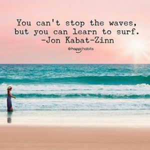 waves of pain. learn to surf